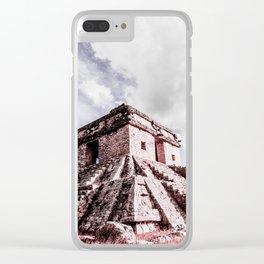 Dzibilchaltun Clear iPhone Case