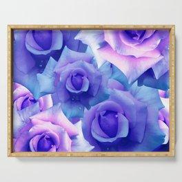 Bouquet de fleur Serving Tray