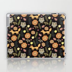 Сhildren's seamless with animals Laptop & iPad Skin
