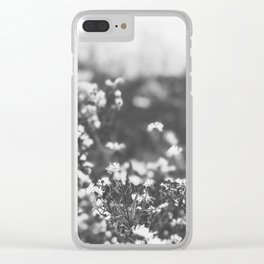 Vintage Meadow Clear iPhone Case