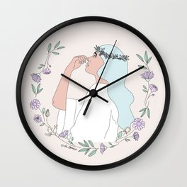 Fresh Perspective Wall Clock