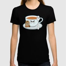 Tea fury Womens Fitted Tee Black SMALL