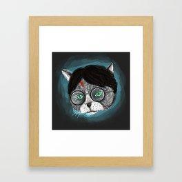 Potter Cat  Framed Art Print