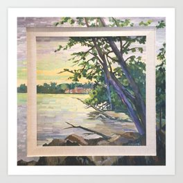 The Wilcox Lake 2016 Art Print