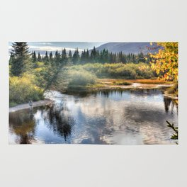 Fall Fly Fishing in Maine Rug