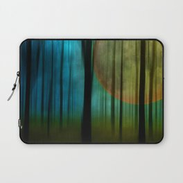 Full Moon Forest Laptop Sleeve