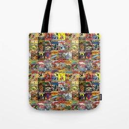 Comic Book Collage II Tote Bag