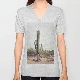 Cactus Land Unisex V-Neck