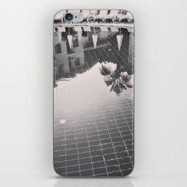 Palm Tree reflection iPhone Skin