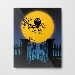 Spooky Halloween 4 Metal Print