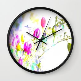 funny like m & m's Wall Clock