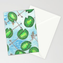 Frogs & Flies Stationery Cards