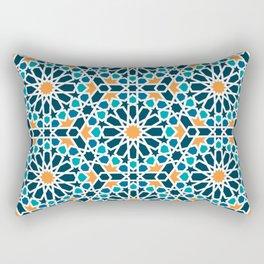 Tile of the Alhambra Rectangular Pillow