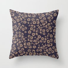 Flowers at Dawn II Throw Pillow