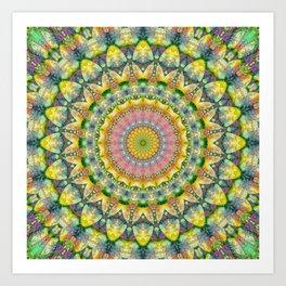 Mandala Patchwork 3 Art Print