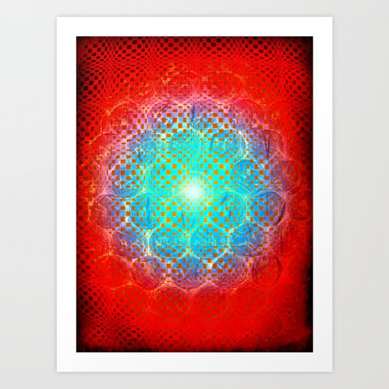 Alien Egg Cluster Art Print