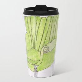 green chair Travel Mug