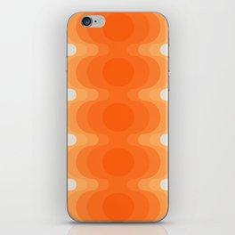 Echoes - Creamsicle iPhone Skin