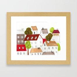Along I see Framed Art Print