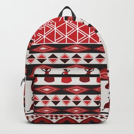 African Tribal Pattern No. 85 Backpack