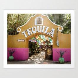 Tequila Tasting Art Print