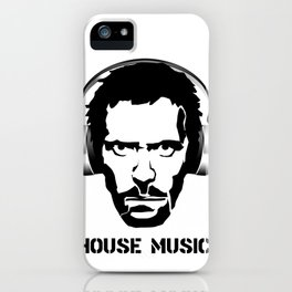 Dr House Music iPhone Case