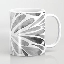 Symmetric drops - black and white Coffee Mug