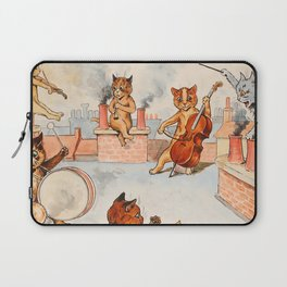 CATS ORCHESTRA - Louis Wain Cats Laptop Sleeve