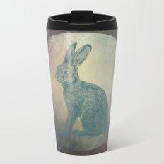Hare in the Moon Metal Travel Mug
