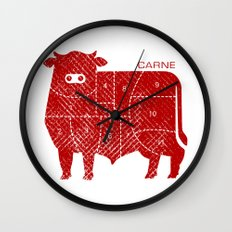 carne Wall Clock