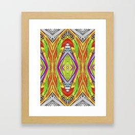 life pattern number 2 Framed Art Print
