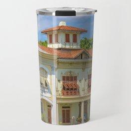 Historic Buildings, Parque Historico, Guayaquil, Ecuador Travel Mug