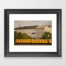 STREETART :: BERLIN :: GERMANY by Jay Hops Framed Art Print