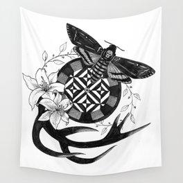 Acherontia Atropos - Hannibal Wall Tapestry