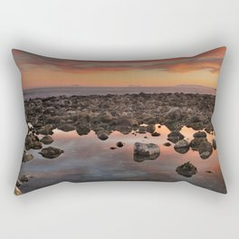 Gibraltar, Africa and Spain in one photo Rectangular Pillow