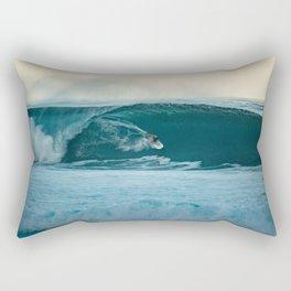 Surfing Mornings Rectangular Pillow