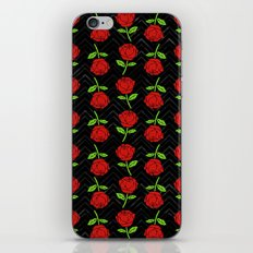 Rose Outline | Floral iPhone & iPod Skin