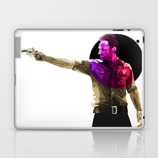 Rick from the walking dead Laptop & iPad Skin