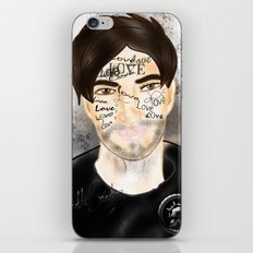 The Word you Never Say (Giannis). iPhone & iPod Skin