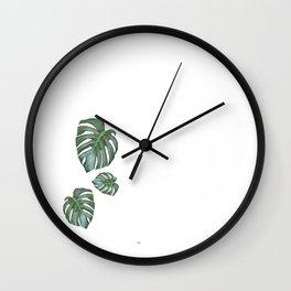 Monstera The Tree Wall Clock