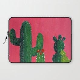 Pink cactus Laptop Sleeve