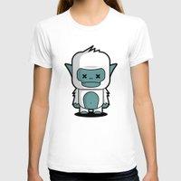 yeti T-shirts featuring Yeti by m. arief (mochawalk)