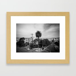 Russian Hill   San Francisco  Framed Art Print