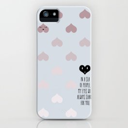 SEA OF HEARTS iPhone Case