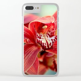 Awe Struck A Vein Clear iPhone Case