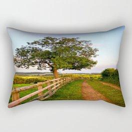 Follow The Path Rectangular Pillow