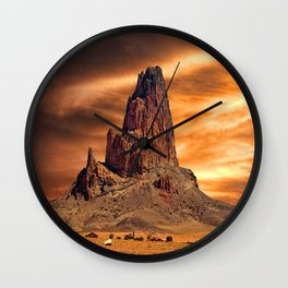 Desert Skies Wall Clock