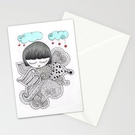 Z-TANGO GIRL Stationery Cards