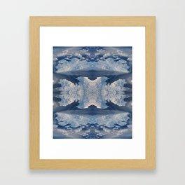 Nordic Blues Framed Art Print