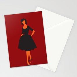 lady 5 Stationery Cards